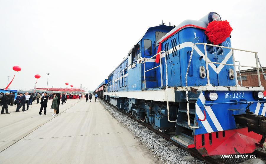Новый маршрут из Китая в Беларусь