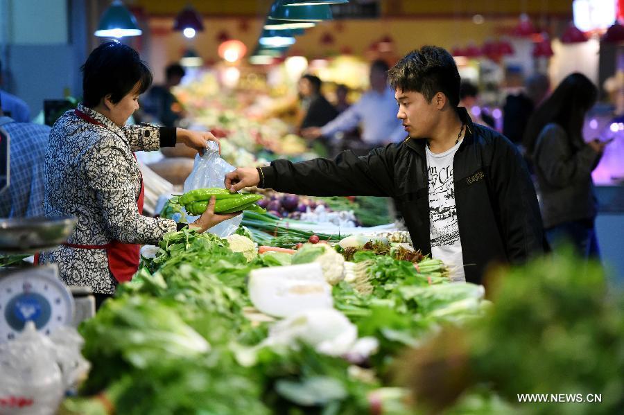 Темпы инфляции в Китае в апреле не изменились по сравнению с прошлым месяцем