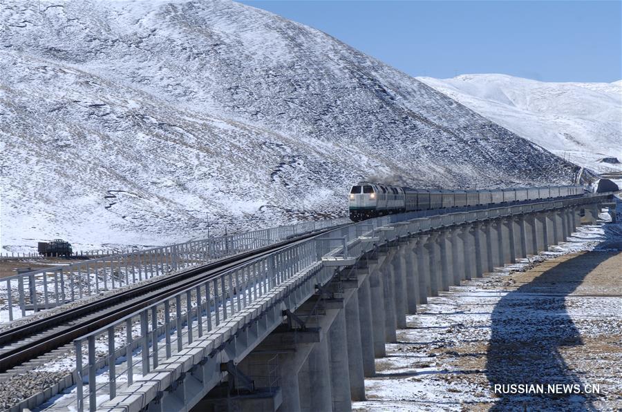 Самая высокогорная железная дорога отмечает 10-летнюю годовщину