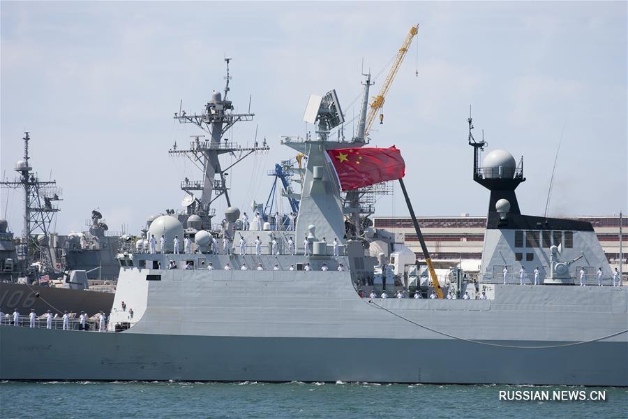 Китайские ВМС принимают участие в международных учениях RIMPAC 2016