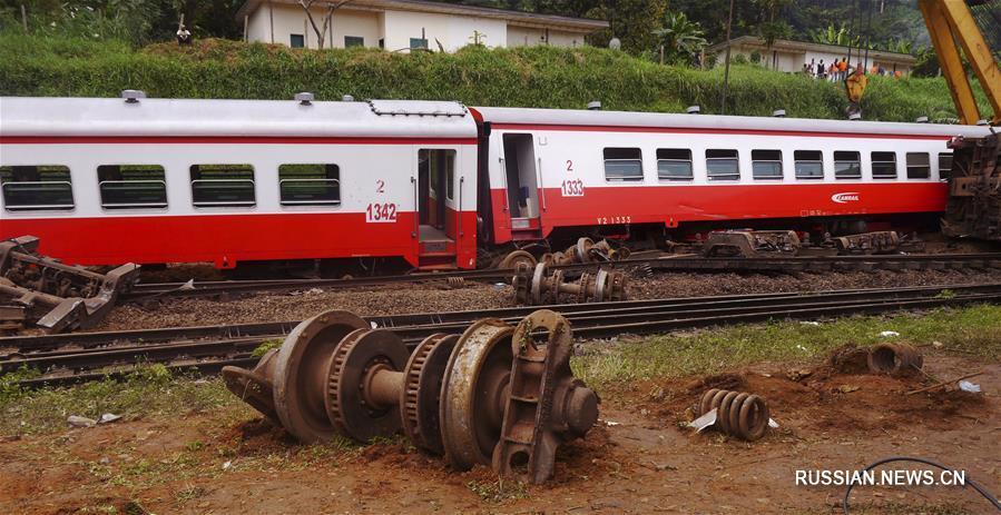 Число жертв в итоге крушения поезда вКамеруне выросло до 70 человек