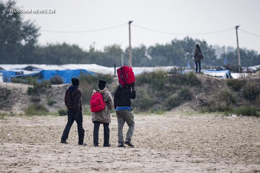 Крупнейший во Франции лагерь беженцев «Джунгли» загорелся в Кале