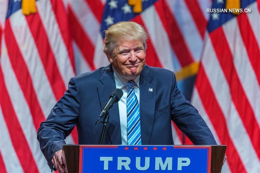 (国际)(1)唐纳德·特朗普获得当选总统所需的270张选举人票