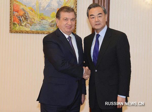 Узбекистан и КНР обсудили перспективы контактов в последующем 2017г.