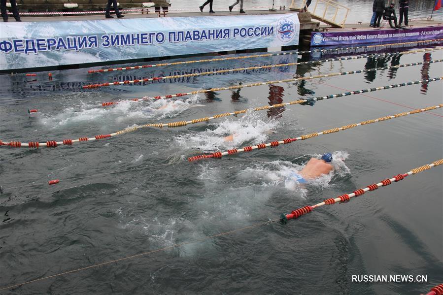 ВоВладивостоке стартовал кубок мира среди пловцов-моржей