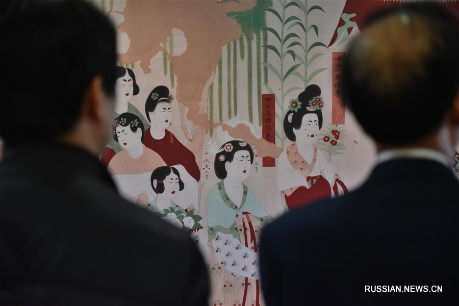 На Тайване открылась выставка о культуре и искусстве в Дуньхуане