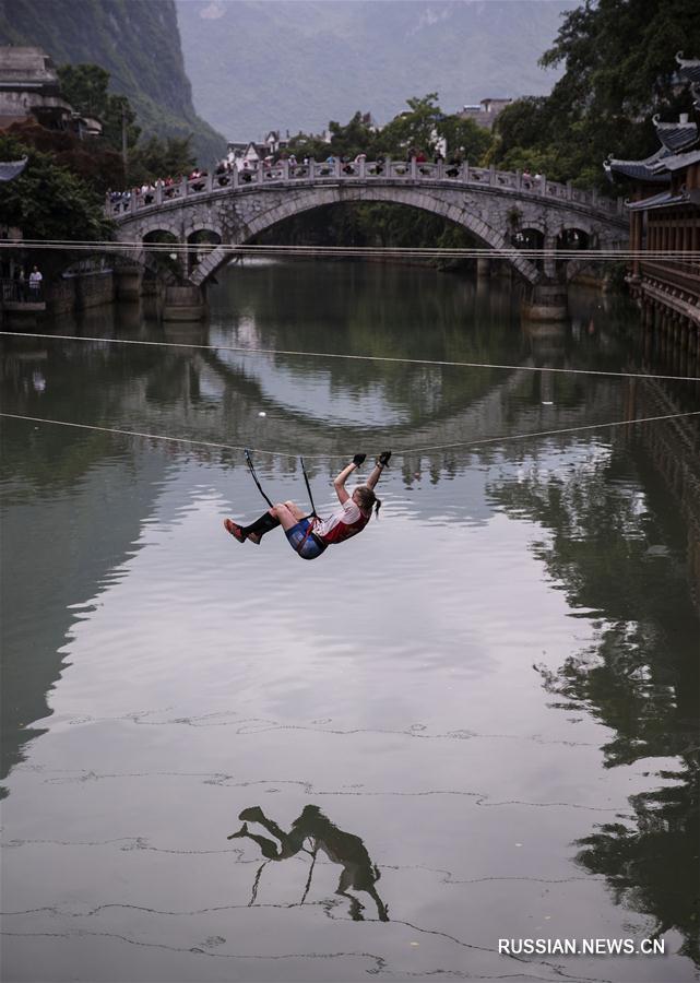 Завершились 10-е Китайские международные соревнования по горному квесту на открытом воздухе