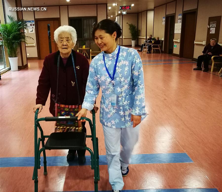 В Китае проживает 230 млн пожилых людей старше 60 лет