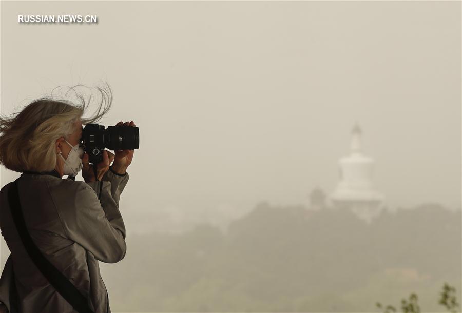 (环境)(2)北京遭遇沙尘天气