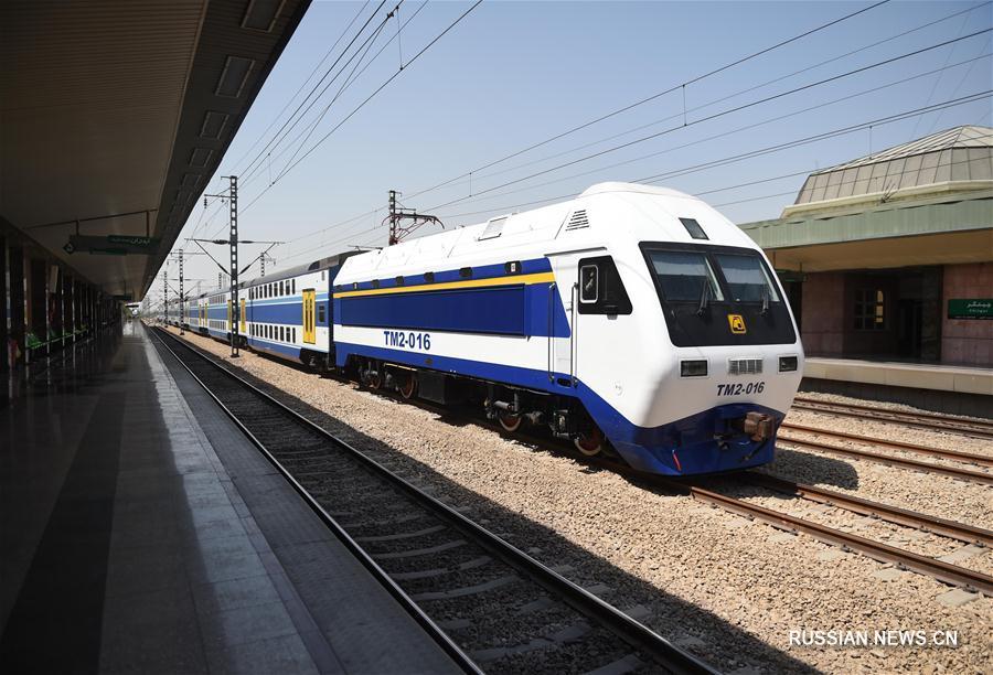 """""""Один пояс, один путь"""" -- Китайская техника на службе железных дорог Ирана"""