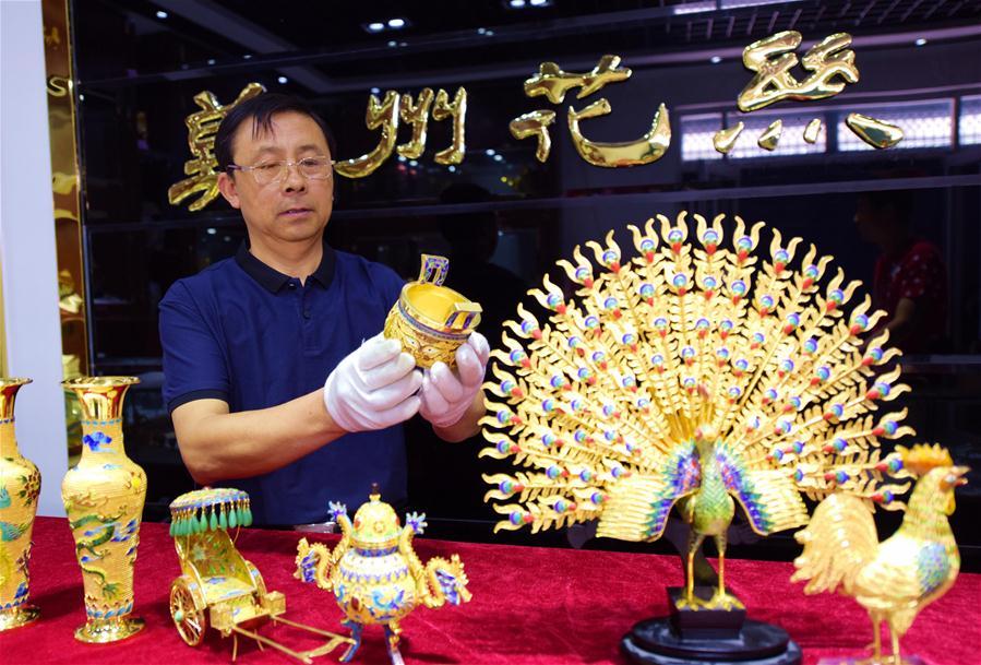 Искусство филиграни из провинции Хэбэй