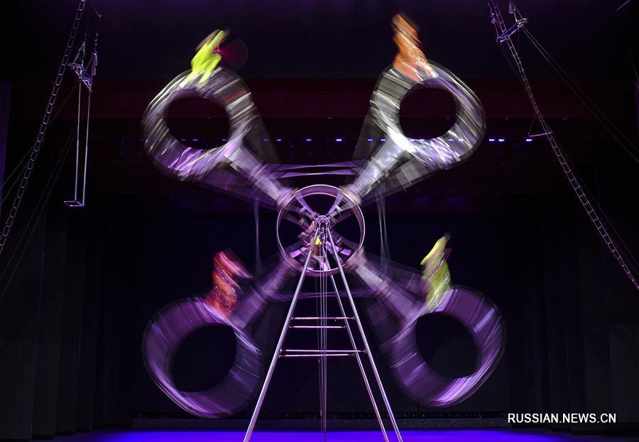 В Урумчи открылся цирковой фестиваль