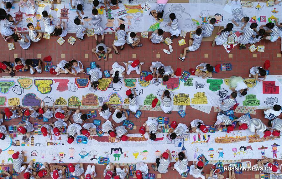Международный день защиты детей в Китае