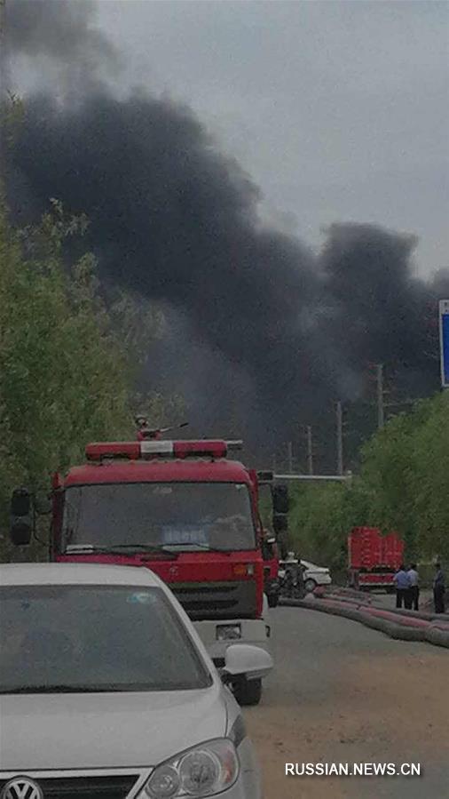 #(突发事件)(1)山东临沂一公司发生爆炸并引发火情 1人死亡7人失联