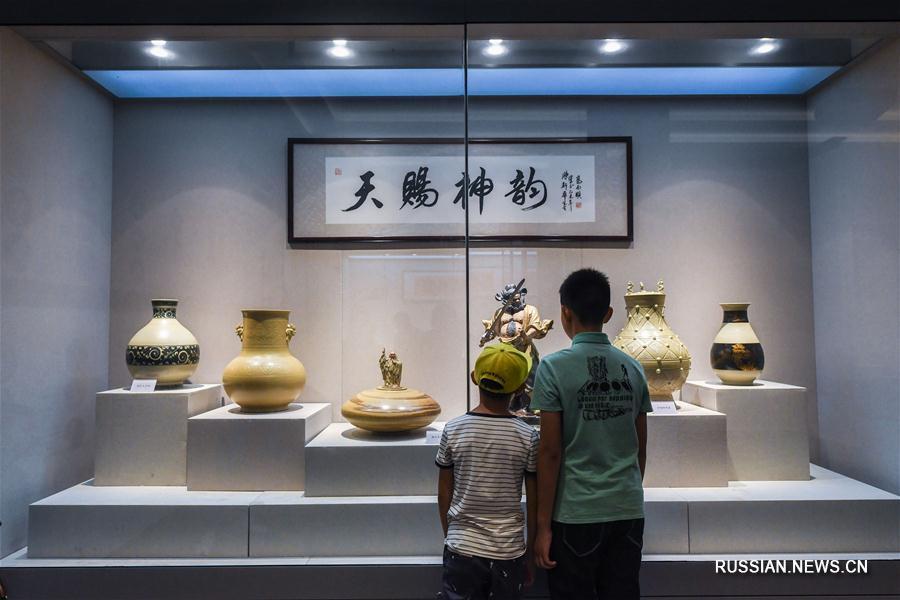 В Восточном Китае открылся Музей керамических изделий Учжоуской печи