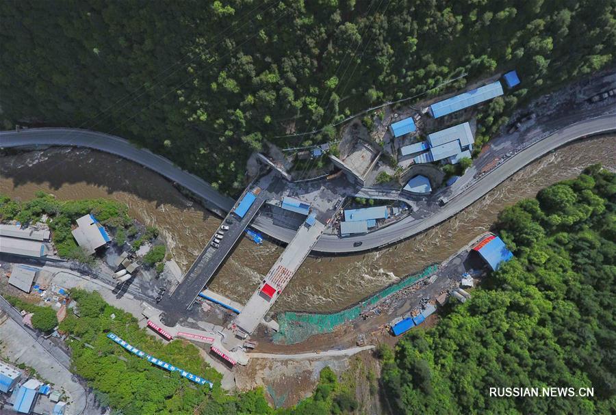 Завершена проходка тоннеля скоростной магистрали Вэньчуань -- Баркам