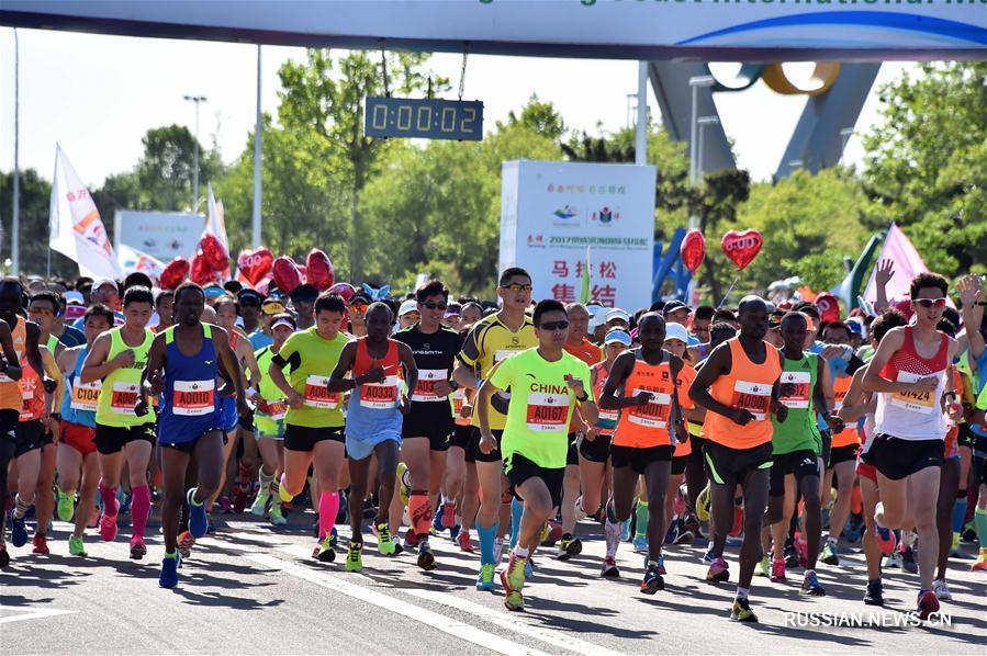 Марафон --  Жунчэнский приморский международный марафон -- 2017: обзор