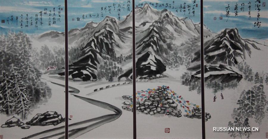 Во Владивостоке проходит выставка китайского художника Лян Шучэна