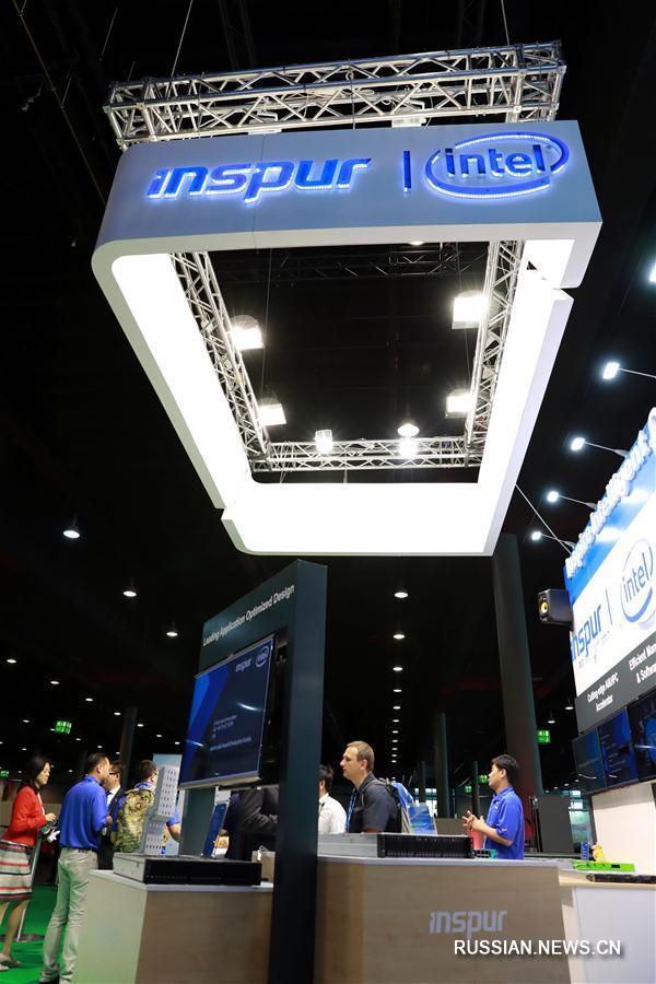 Китайские суперкомпьютеры стали гвоздем программы на международной конференции во Франкфурте
