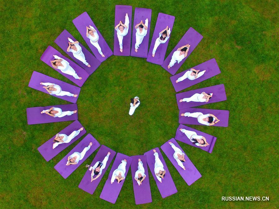 Международный день йоги в Китае