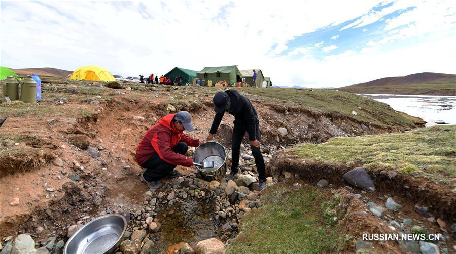 Китайские ученые отправились во вторую комплексную экспедицию по Цинхай-Тибетскому  нагорью