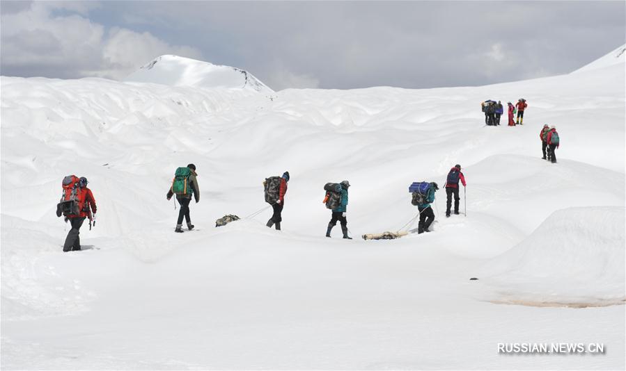 Дневник научной экспедиции к ледникам Цинхай-Тибетского нагорья