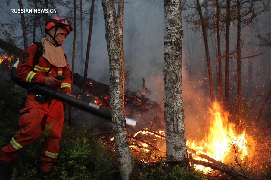 #(社会)(1)内蒙古大兴安岭高地林场火灾扑救工作取得决定性胜利