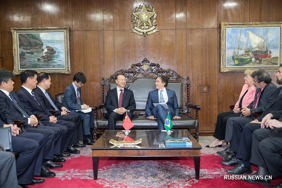 (XHDW)(1)杜青林率中共代表团访问巴西