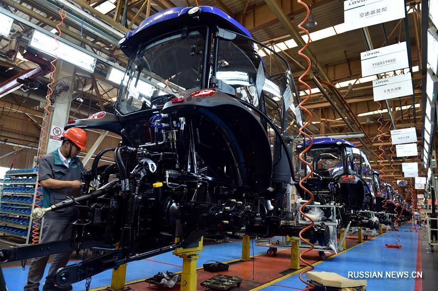 В первом полугодии 2017 г. ВВП Китая вырос на 6,9 проц.