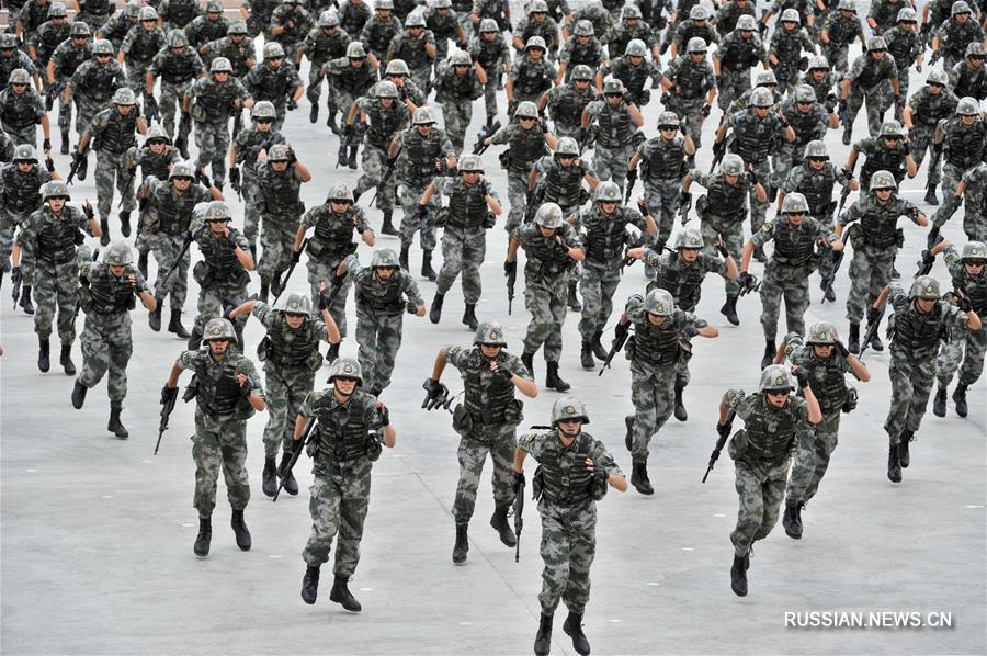 В Китае открылись Армейские международные игры -- 2017