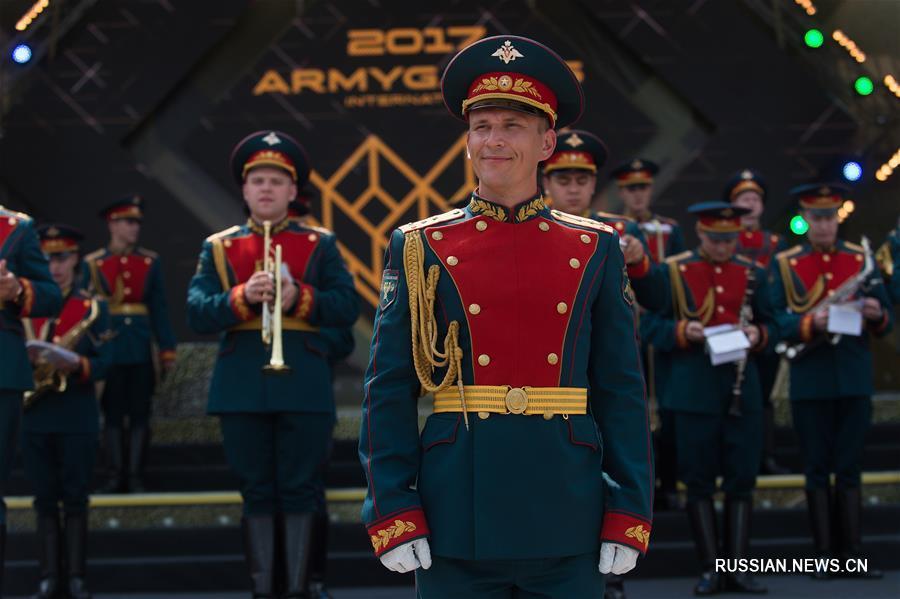 В Подмосковье открылись Армейские международные игры -- 2017