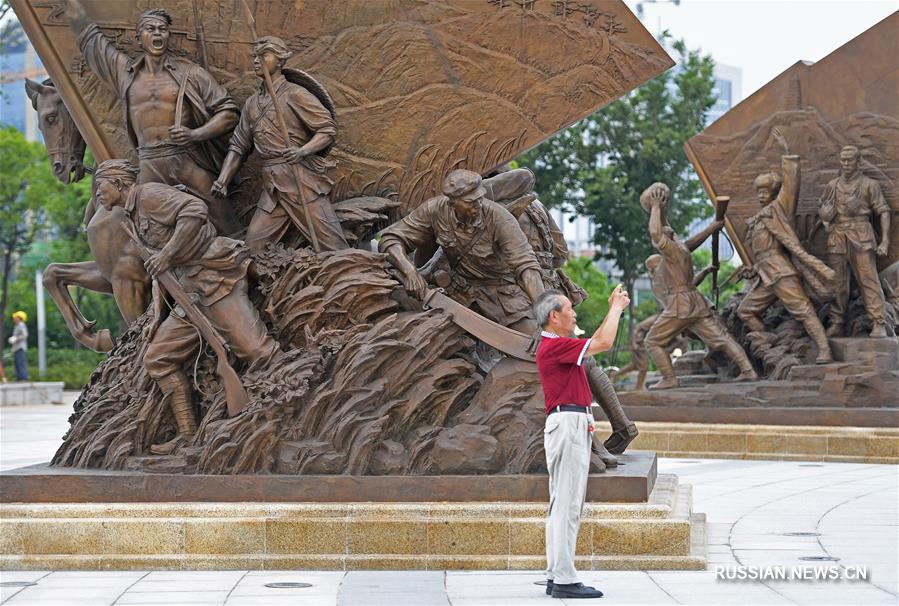В Наньчане открылась для посещения площадь Скульптур о создании армии