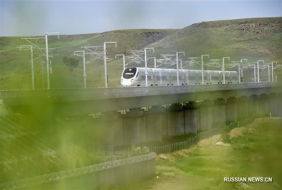 Во Внутренней Монголии открылось высокоскоростное железнодорожное сообщение