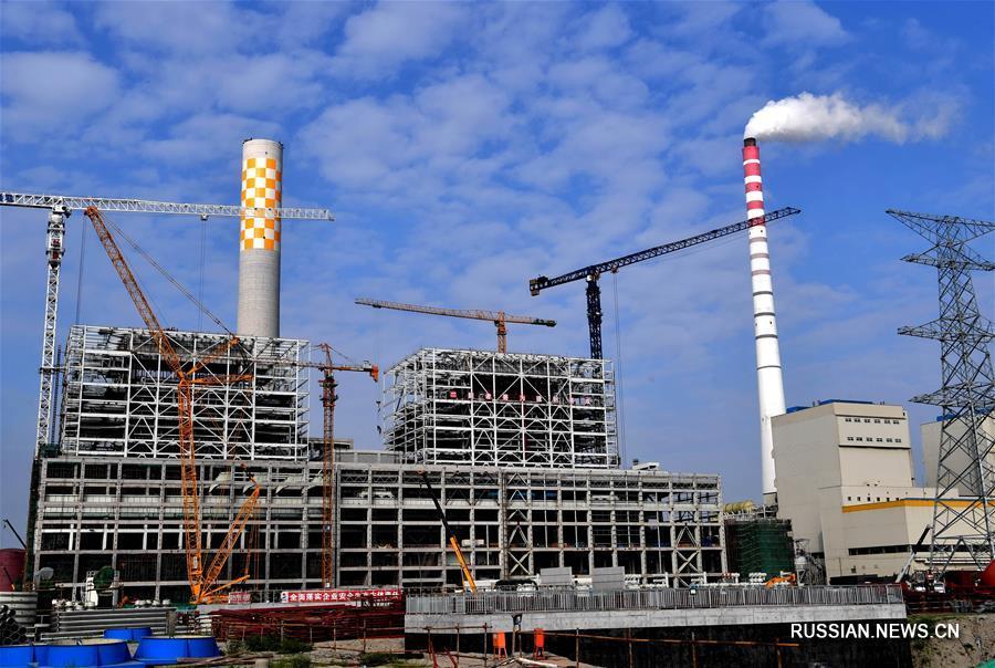 """Строительство """"зеленого"""" промышленного кластера в Цаофэйдянь"""