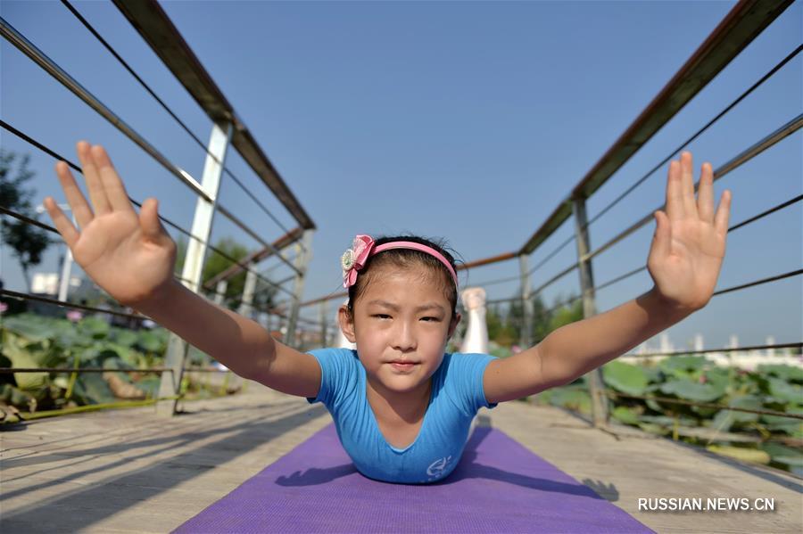 Йога в День фитнеса