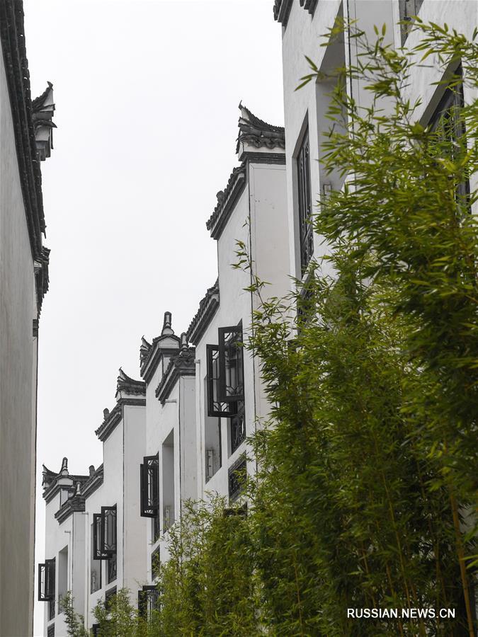 Зеленое будущее промышленного поселка в провинции Чжэцзян
