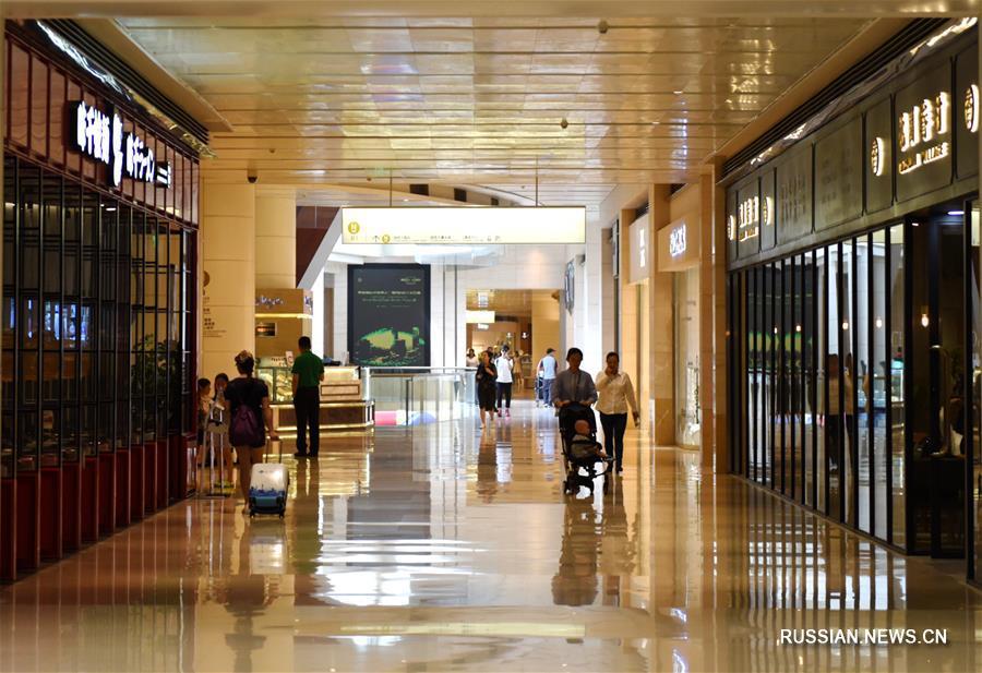 В Пекине открылся блок В третьей башни Китайского всемирного торгового центра