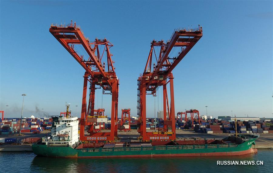 Портовая зона Цзинтан порта Таншань побила миллионный рекорд