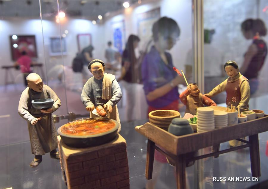 В Пекине открылась выставка произведений литературы и искусства