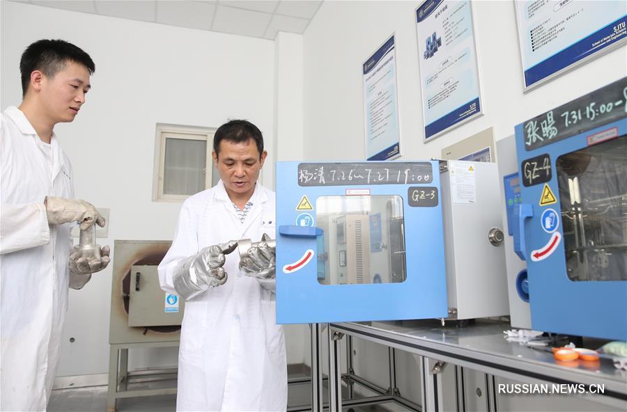 """Ученые из университета """"Цзяотун"""" представили новый наноматериал"""