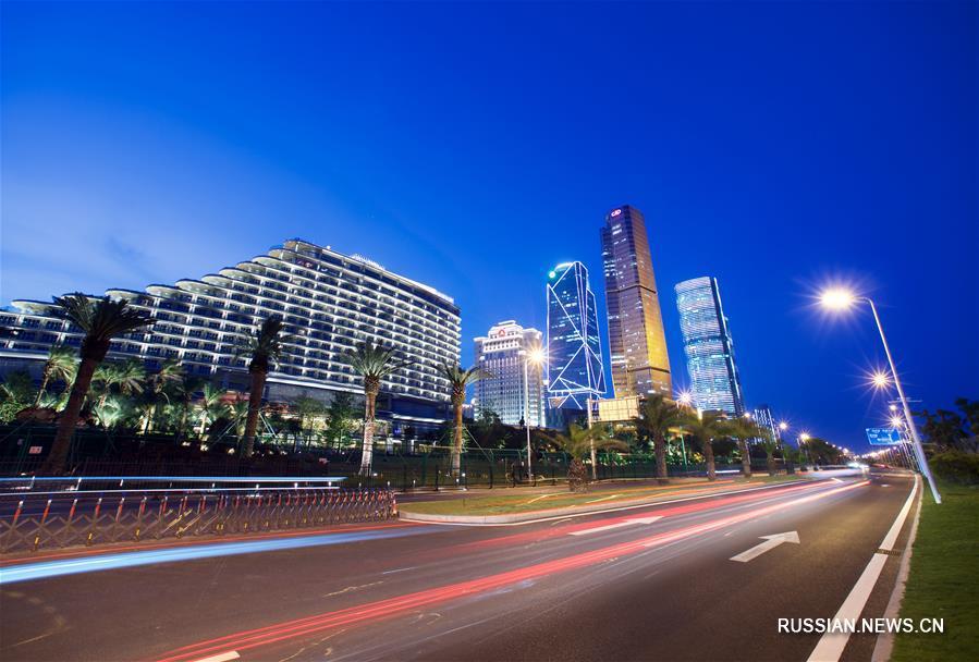 Свыше 1400 городских объектов в Сямэне озарятся огнями ночной иллюминации