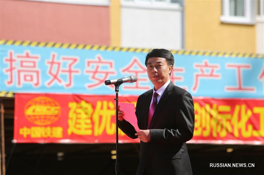 Китайская компания завершила строительство терапевтического корпуса в одной из больниц Минска