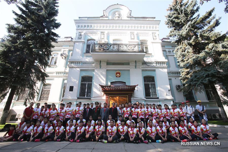 В Киеве открылся китайско-украинский лагерь для юных любителей спортивной радиопеленгации