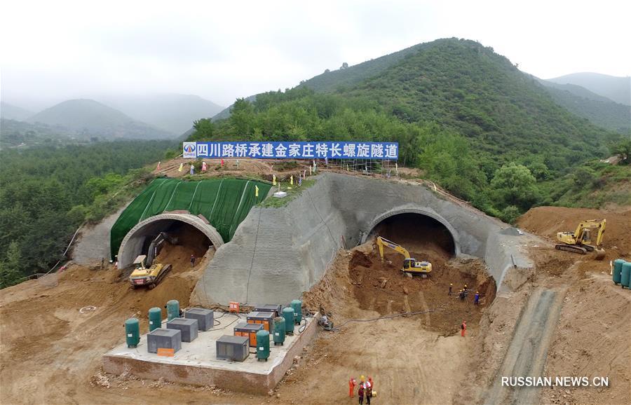 К зимней Олимпиаде-2022 строится скоростная автодорога Яньцин-Чунли
