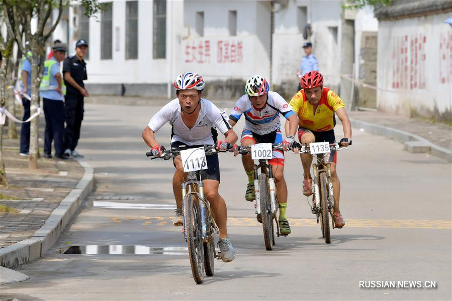 Велоспорт -- Кросс-кантри через пик Сяояо -- 2017 в уезде Уюань