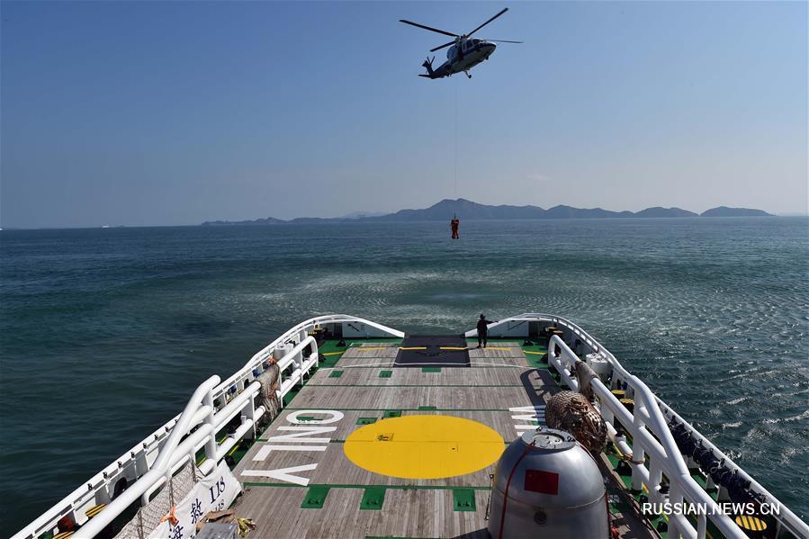(图文互动)(1)我国首次成功组织中欧航天员海上救生训练