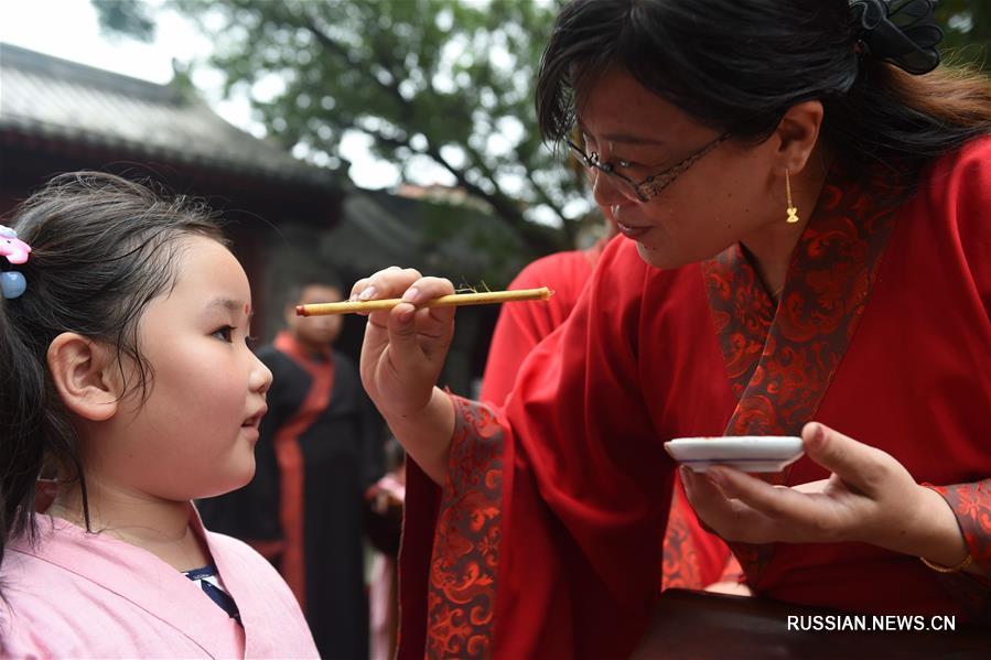 Церемония начала учебы в провинции Хэбэй