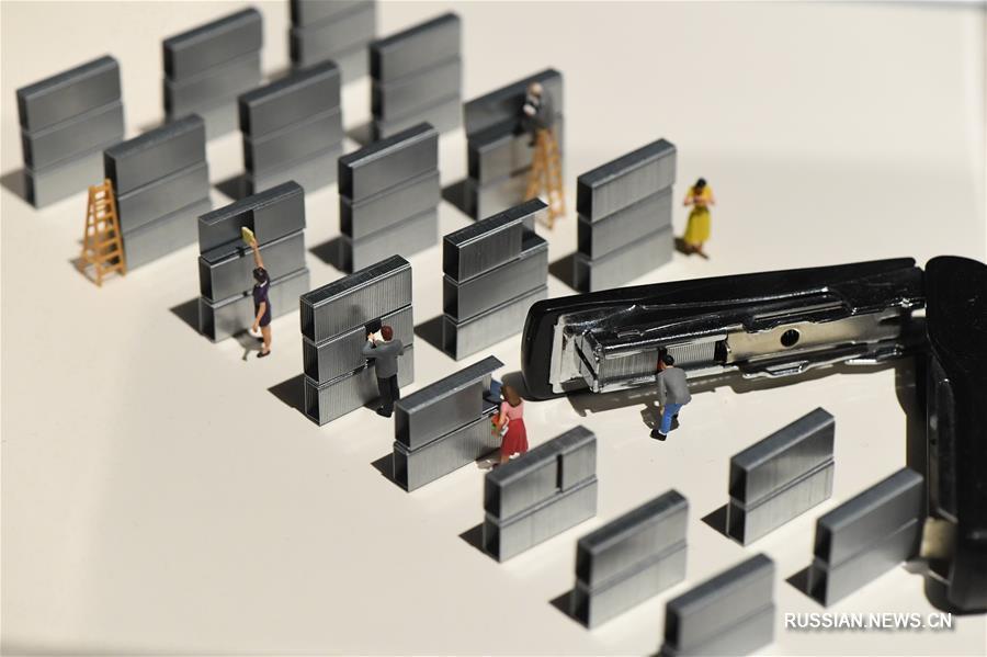 Выставка искусства миниатюры в Тайбэе
