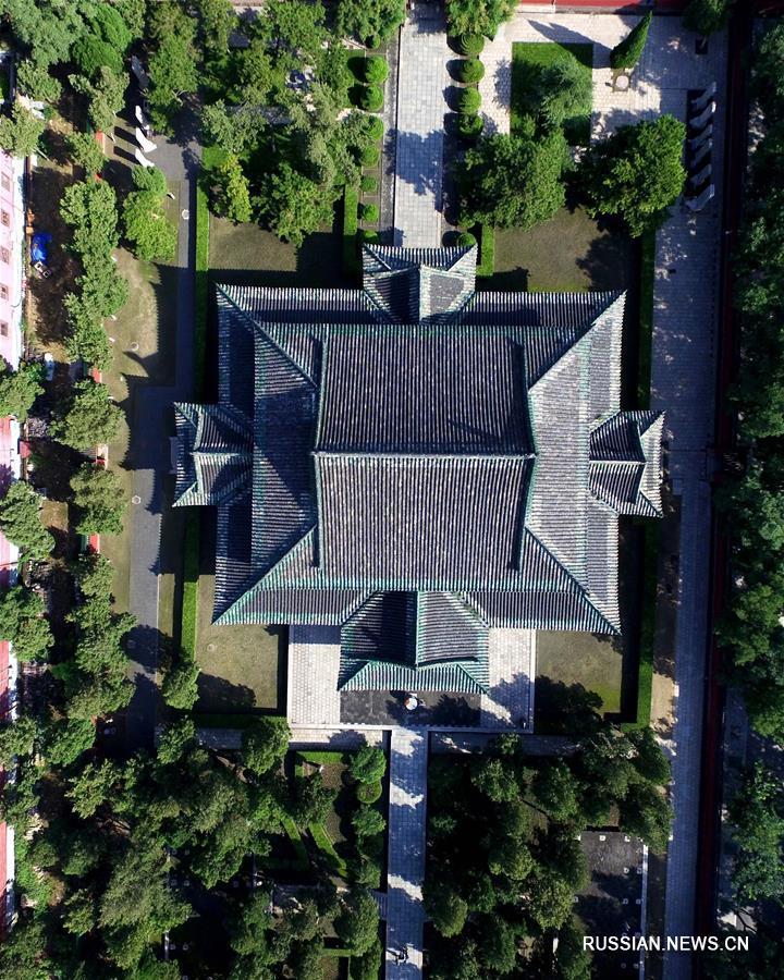 Древние памятники Чжэндина открылись после реставрации
