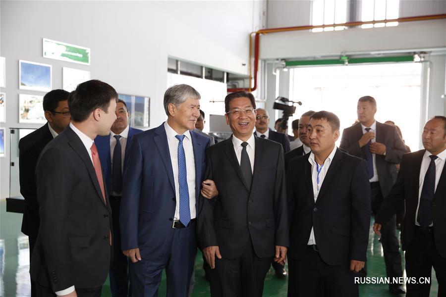 Бишкекская ТЭЦ открылась после реконструкции